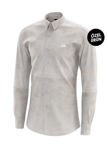 Robe di Kappa Gömlek Beyaz